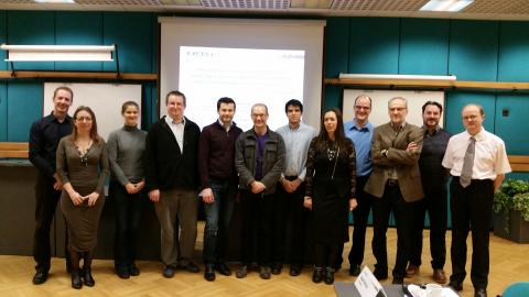 EXCELL project kick-off meeting. Consortium picture.